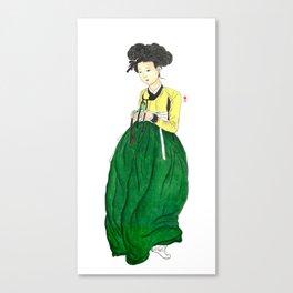 Mi-in-do 1700s_Solnekim Canvas Print
