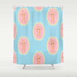 Sorry Mama Voodoo Cutie - Pastels Shower Curtain