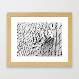 Destroy Me II Framed Art Print