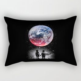 Beautiful Earth Rectangular Pillow