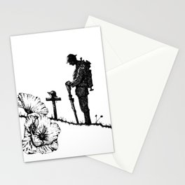 Lest We Forget - Remembrance Day Stationery Cards