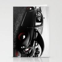 vw Stationery Cards featuring VW Bug by Gene  Edgar