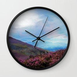 Llangollen, Wales, UK Wall Clock