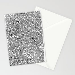 abstract pattern Stationery Cards
