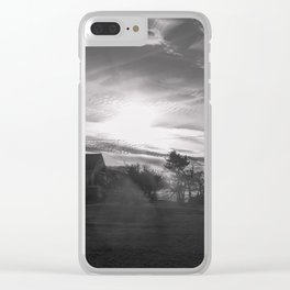 Streamers in the sky Clear iPhone Case