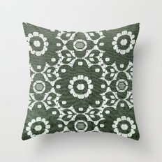 Flowers Wire 5057 Throw Pillow