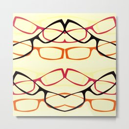 Four Eyes (1) Metal Print