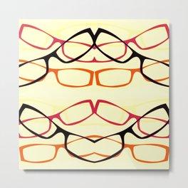 Four Eyes (1) Metal Print