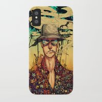 fear and loathing iPhone & iPod Cases featuring Fear and Loathing  by Mony