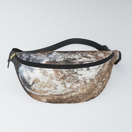 Alaskan Grizzly in Snow - 2 Fanny Pack