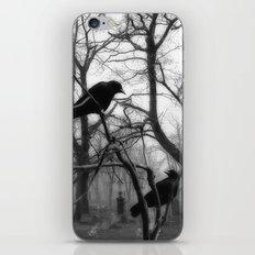 Graveyard Birds iPhone & iPod Skin