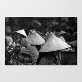 Conical Hats Canvas Print