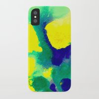 brazil iPhone & iPod Cases featuring WATERCOLOR BRAZIL by Chrisb Marquez