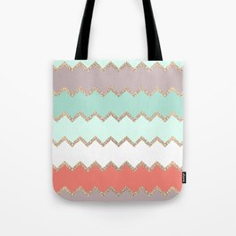 AVALON CORAL MINT Tote Bag