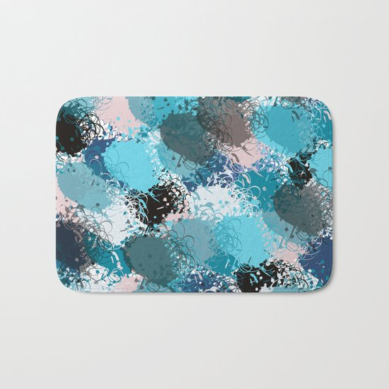 Abstract pattern 68 Bath Mat