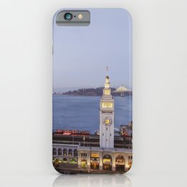 Dusk at the Ferry Building, San Francisco #1 iPhone Case