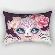 Camila Huesitos - Sugar Skull Rectangular Pillow