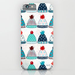COSY CHRISTMAS - WHITE iPhone Case