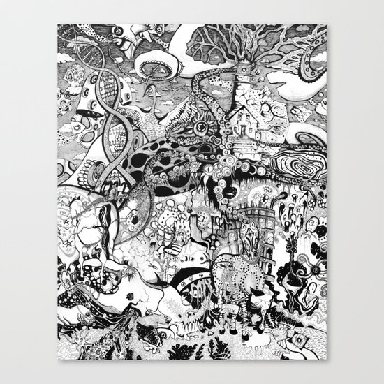 Destroyer Canvas Print