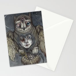 Ghosts in the Night Stationery Cards