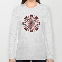 dashása redstone mandala Long Sleeve T-shirt