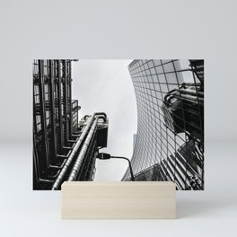 ArWork black white london art work photo Mini Art Print