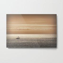 Somewhere beyond the sea Metal Print