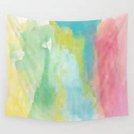 Stroke of soft colours Wall Tapestry
