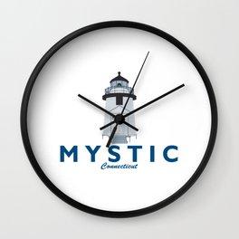 Mystic - Connecticut. Wall Clock