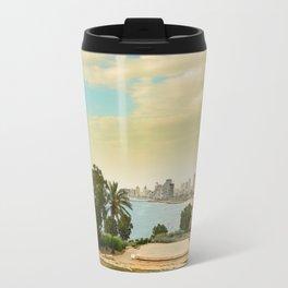 Tel Aviv coastline  Travel Mug