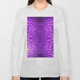 Purple Strawberry Suprise Long Sleeve T-shirt
