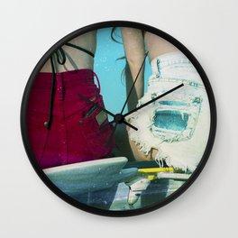 Bums Wall Clock