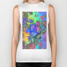 A Burst of Color Biker Tank