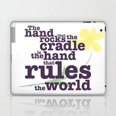 The Hand that Rocks the Cradle (Alternate Version) Laptop & iPad Skin