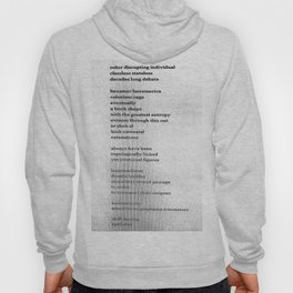 Possible Allies Among the Indifferent Codices Hoody