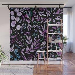 Eucalyptus Violet Wall Mural