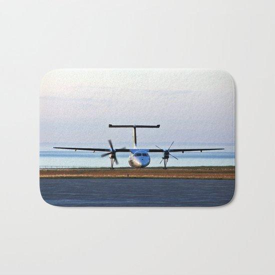 Plane Landing Bath Mat