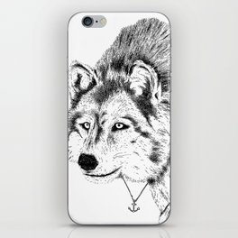Mister Wolf iPhone Skin