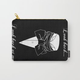 John Thornton : Look back  -white txt- Carry-All Pouch