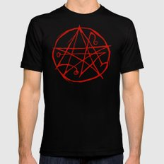Necronomicon X-LARGE Black Mens Fitted Tee