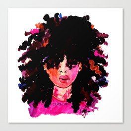 BABY HAIR AND AFROS Canvas Print