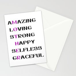 Mother 1 Stationery Cards