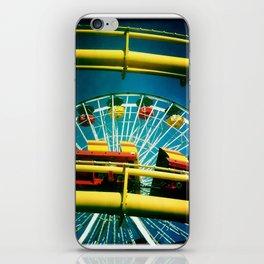 Santa Monica Pier Rollercaster iPhone Skin