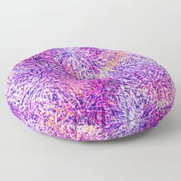 Fireworks Pattern Floor Pillow