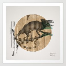 Karmaeleon Art Print