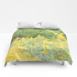 Field of Goldenrod Comforters