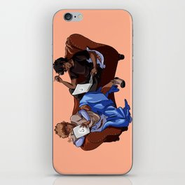 Solangelo Lounging iPhone Skin