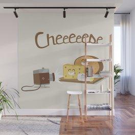 cheeeese Wall Mural