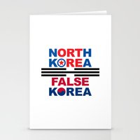 korea Stationery Cards featuring North Korea by pollylitical