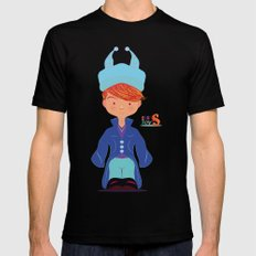 Le petit Mikel /Character & Art Toy design for fun Black Mens Fitted Tee MEDIUM